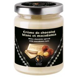 Crème de chocolat blanc et macadamia